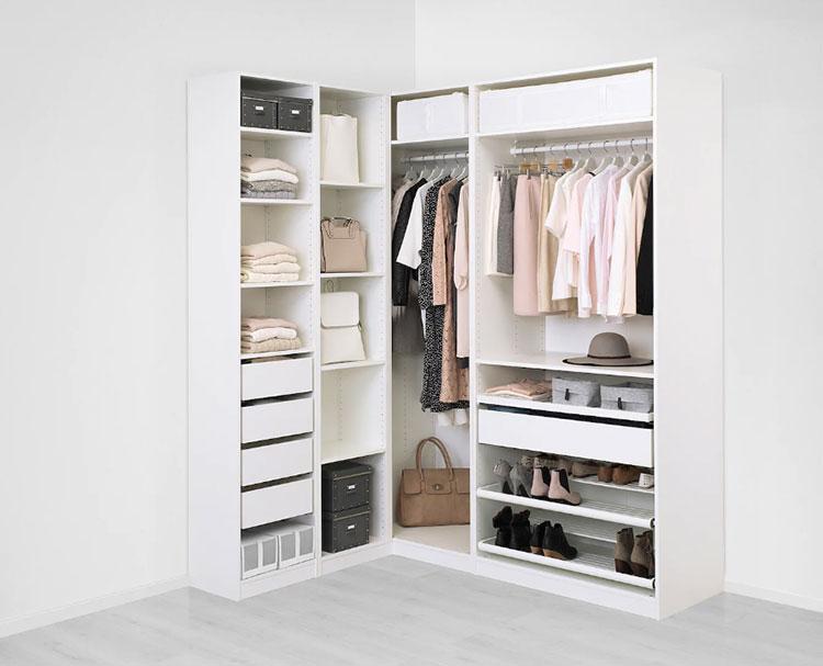 Cabina armadio Ikea con sistema Pax n.04