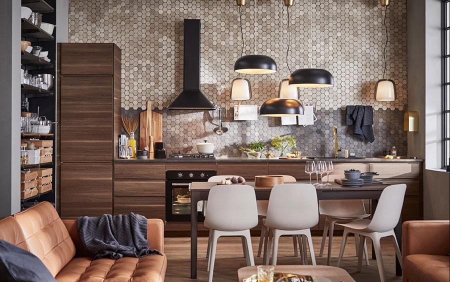 Idee per arredare una cucina piccola con Ikea n.01