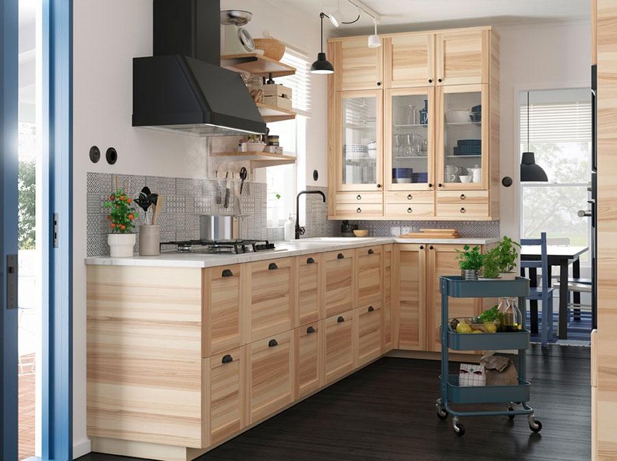 Idee per arredare una cucina piccola con Ikea n.02