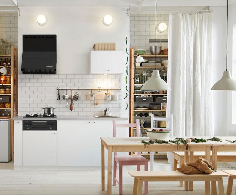 Idee per arredare una cucina piccola con Ikea n.03