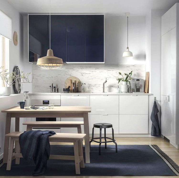 Idee per arredare una cucina piccola con Ikea n.04