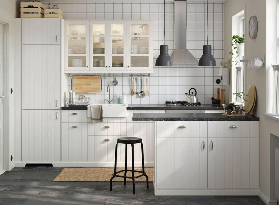 Idee per arredare una cucina piccola con Ikea n.07