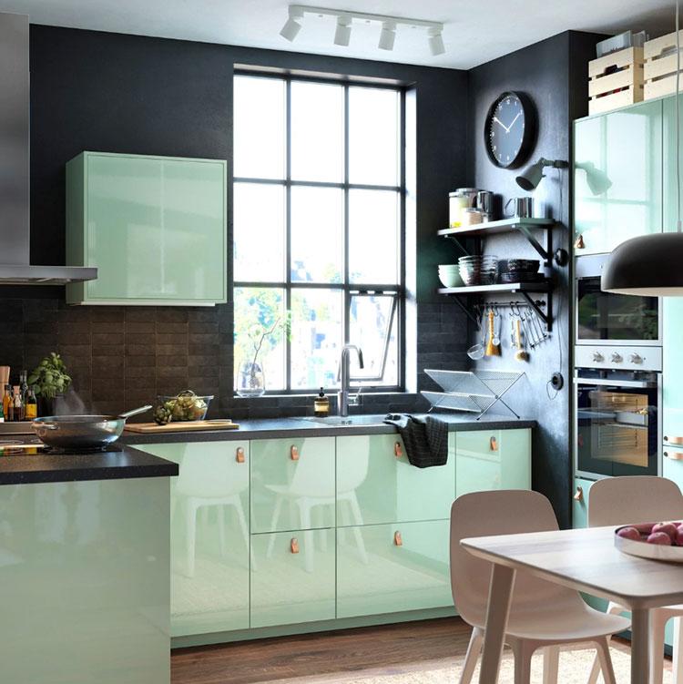 Idee per arredare una cucina piccola con Ikea n.10