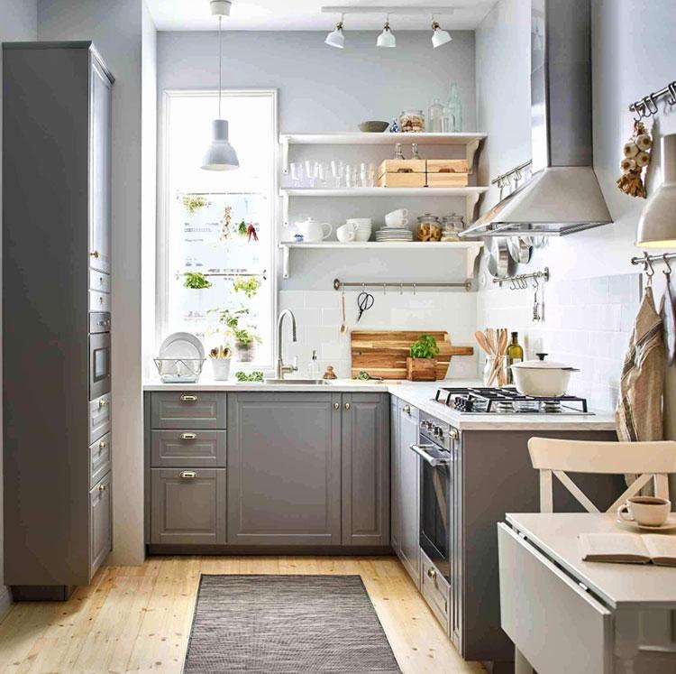 Idee per arredare una cucina piccola con Ikea n.12