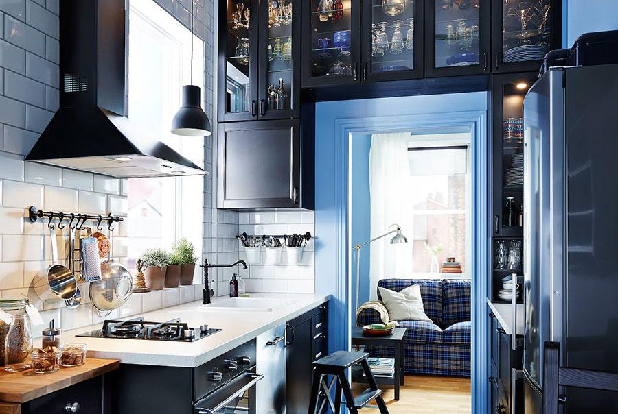 Idee per arredare una cucina piccola con Ikea n.13