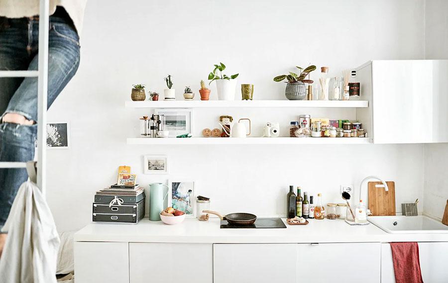 Idee per arredare una cucina piccola con Ikea n.14