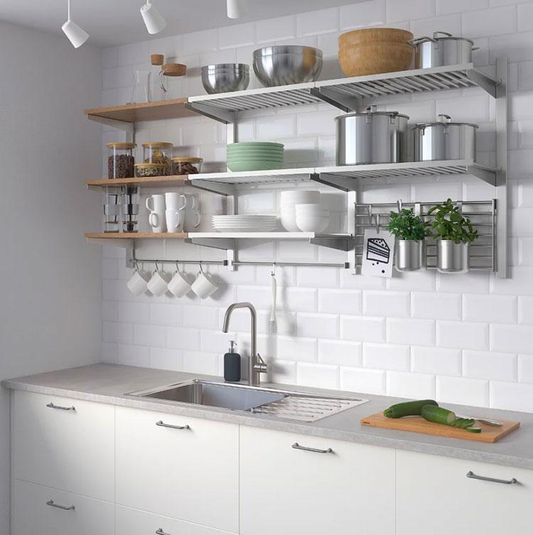 Idee per arredare una cucina piccola con Ikea n.15