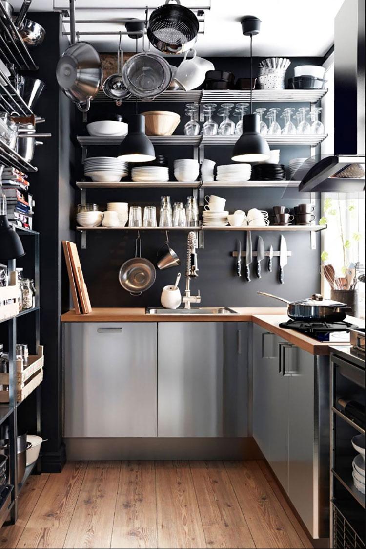 Pensile Angolare Cucina Ikea 27 idee per arredare una cucina piccola con ikea