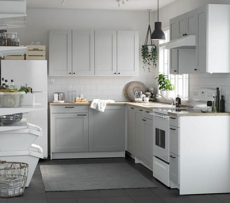 Idee per arredare una cucina piccola con Ikea n.17