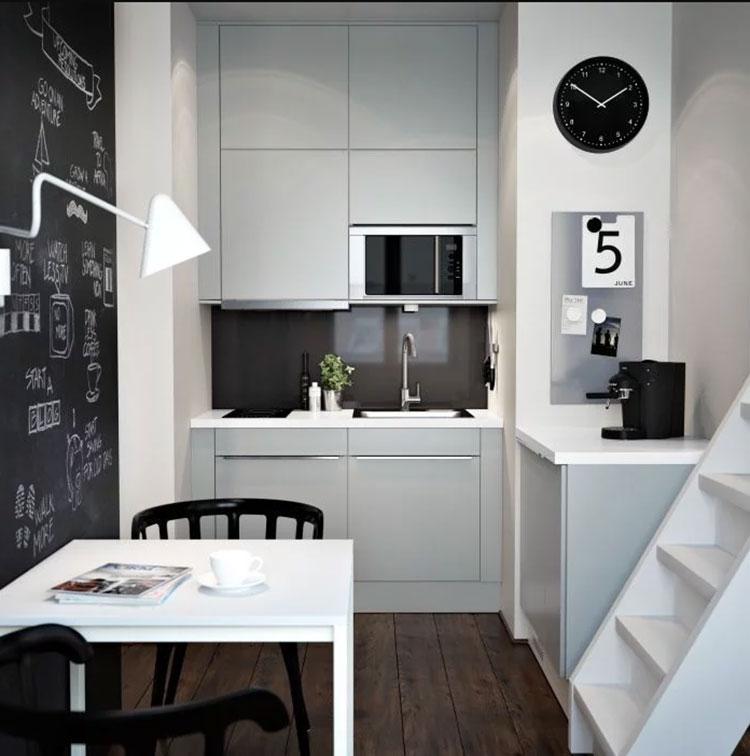 Idee per arredare una cucina piccola con Ikea n.18