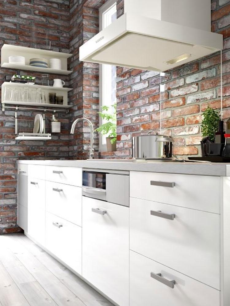 Idee per arredare una cucina piccola con Ikea n.19