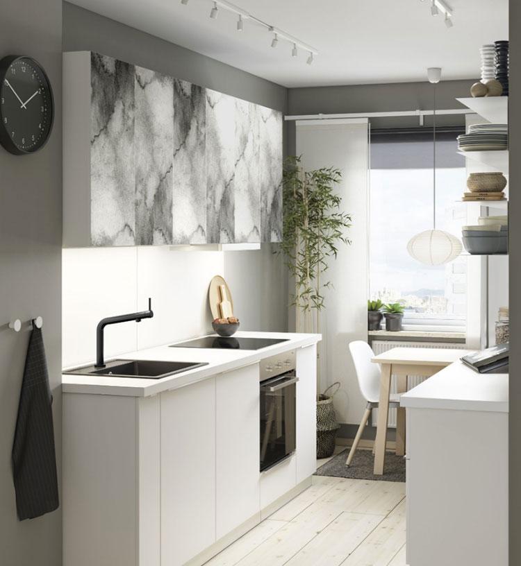 Idee per arredare una cucina piccola con Ikea n.22