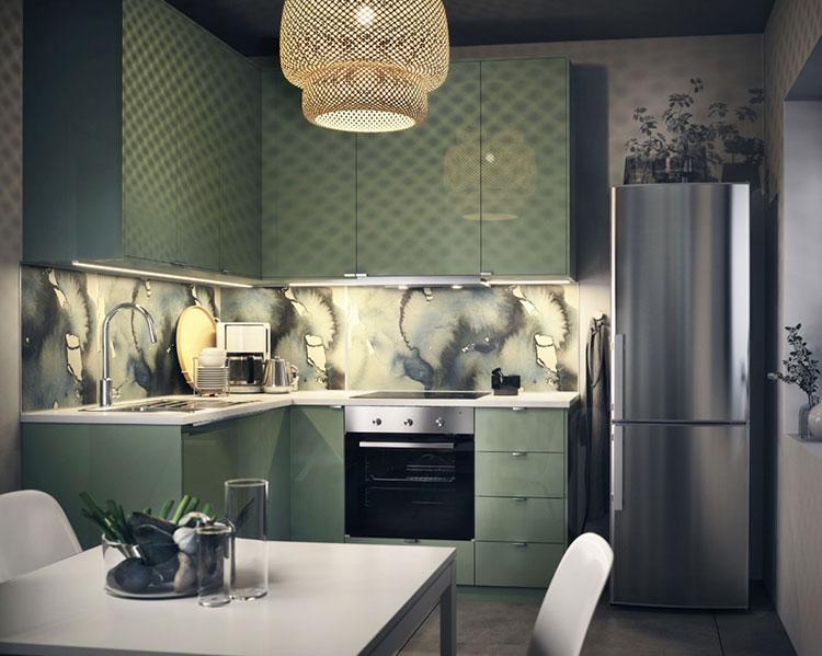 Idee per arredare una cucina piccola con Ikea n.23
