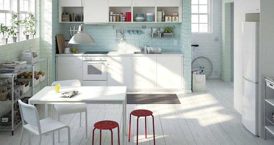 Idee per arredare una cucina piccola con Ikea n.24