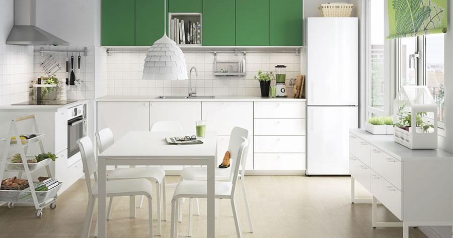 Idee per arredare una cucina piccola con Ikea n.25