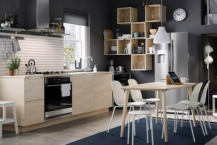 Idee per arredare una cucina piccola con Ikea n.26