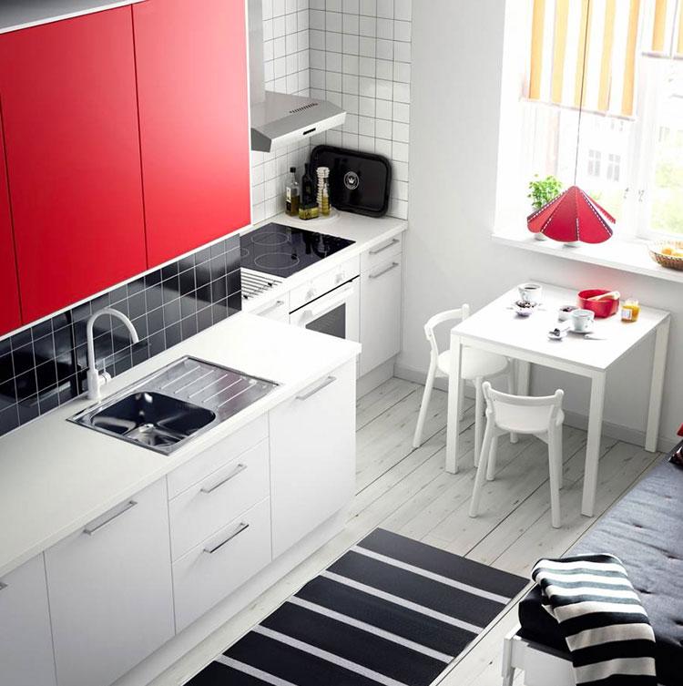 Idee per arredare una cucina piccola con Ikea n.27