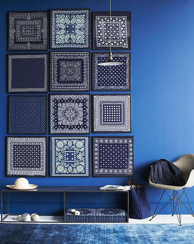 Idee per dipingere le pareti con il calore indaco 1