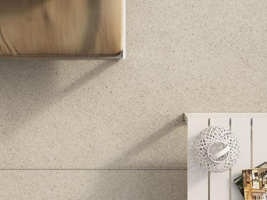 Modello di pavimento per cucina moderna in cemento 01