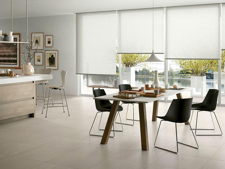 Pavimento per cucina moderna in gres porcellanato 03