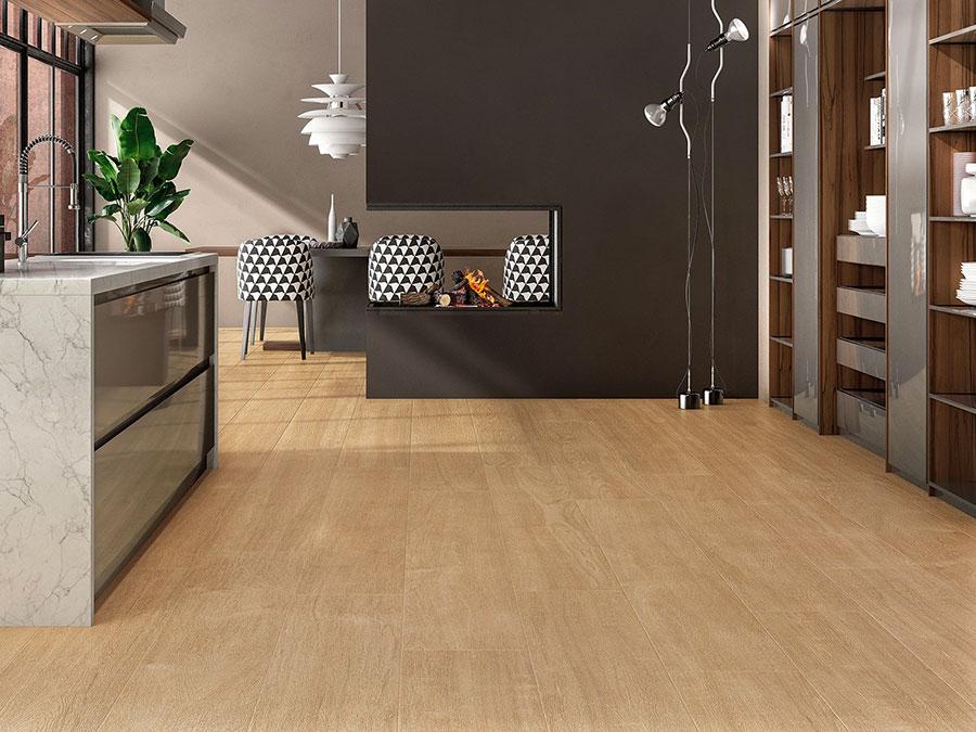 Pavimento per cucina moderna in gres porcellanato 10
