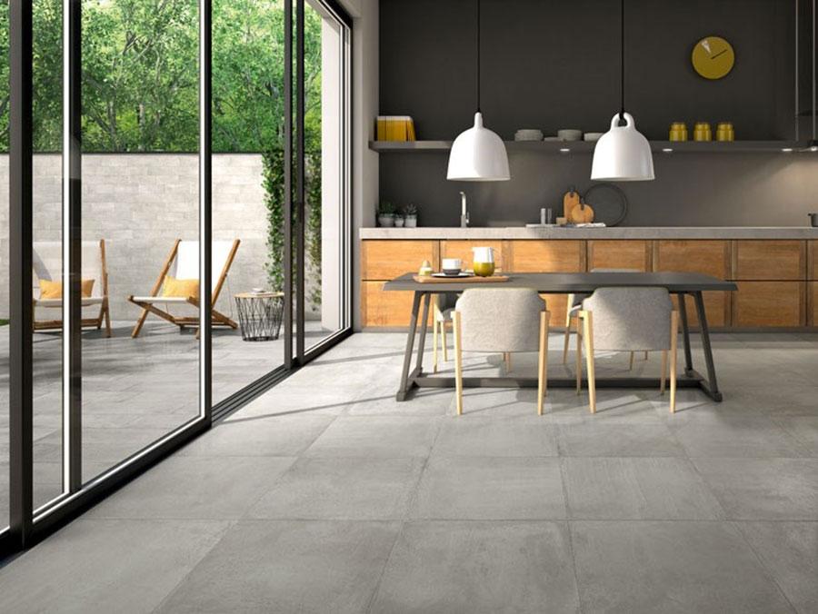 Pavimento per cucina moderna in gres porcellanato 12