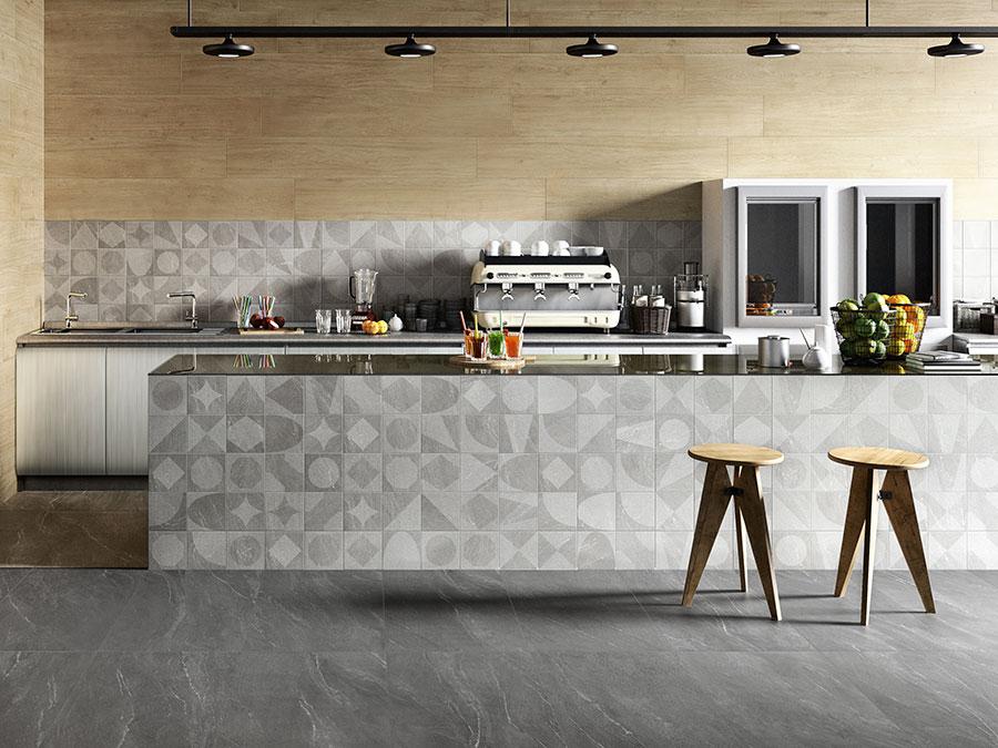 Pavimento per cucina moderna in gres porcellanato 13