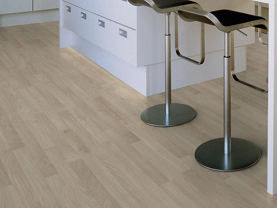 Modello di pavimento per cucina moderna in laminato 02