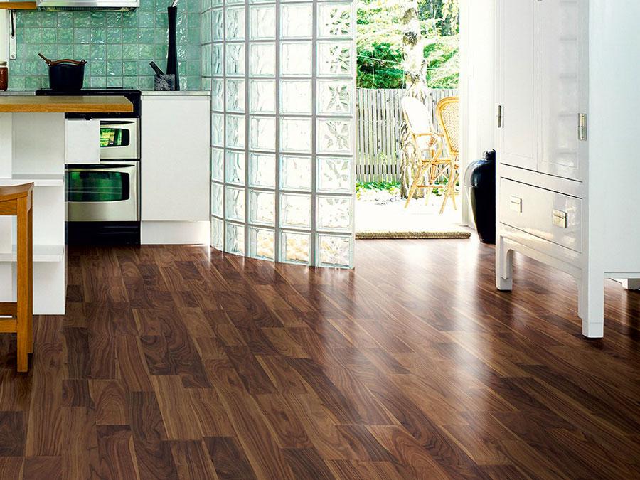 Modello di pavimento per cucina moderna in laminato 03