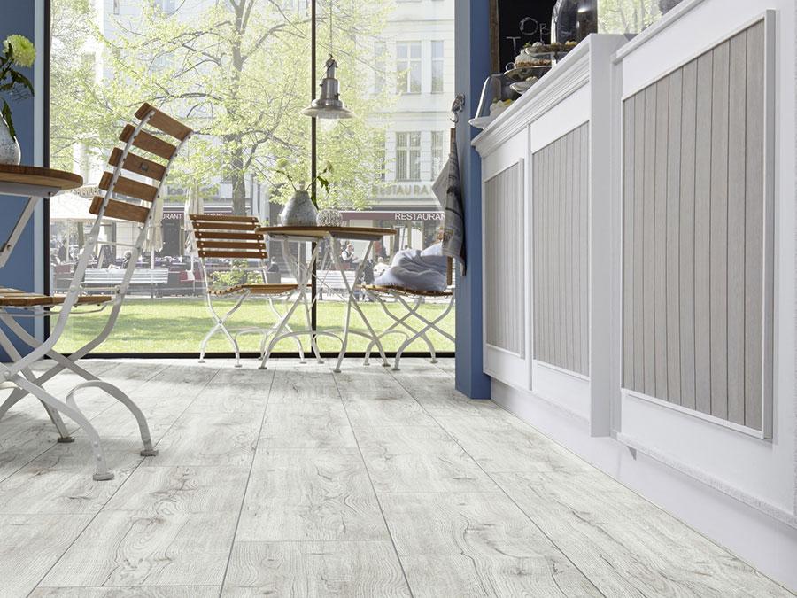 Modello di pavimento per cucina moderna in laminato 05
