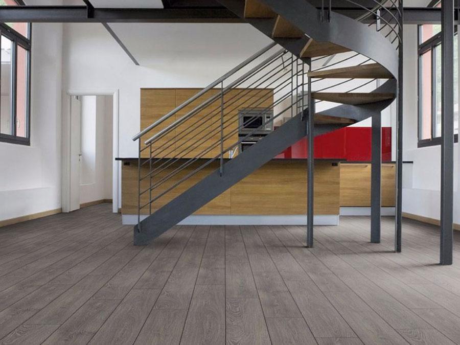Modello di pavimento per cucina moderna in laminato 06