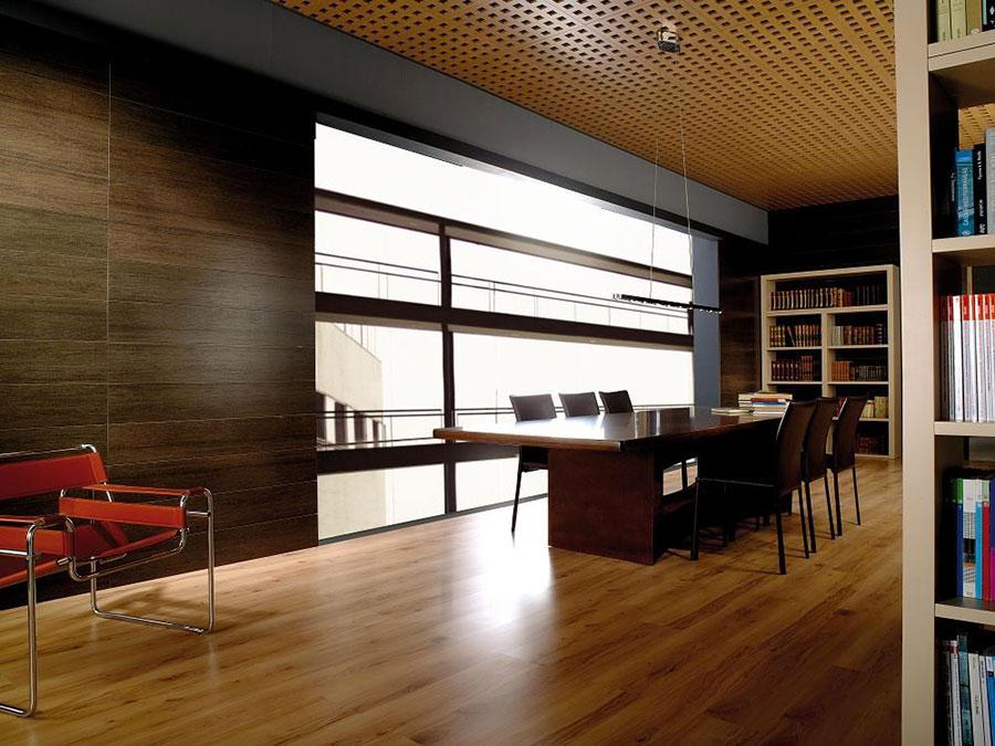 Modello di pavimento per cucina moderna in laminato 07