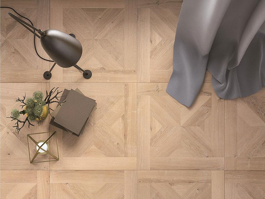 Modello di pavimento per cucina moderna in PVC 01