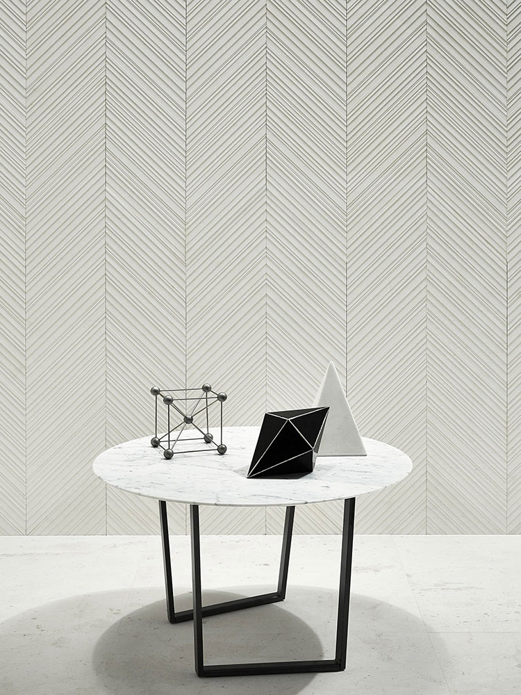 Modello di pavimento per cucina moderna in marmo 02