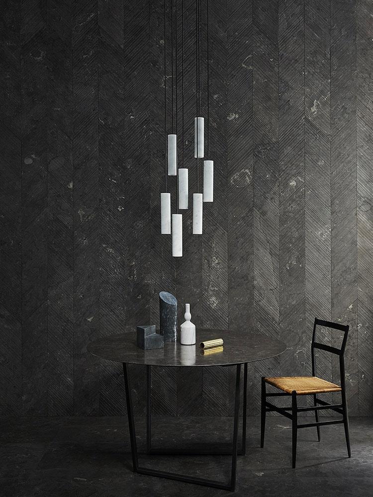 Modello di pavimento per cucina moderna in marmo 03