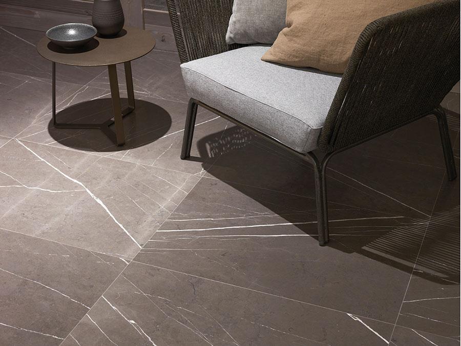 Modello di pavimento per cucina moderna in marmo 04