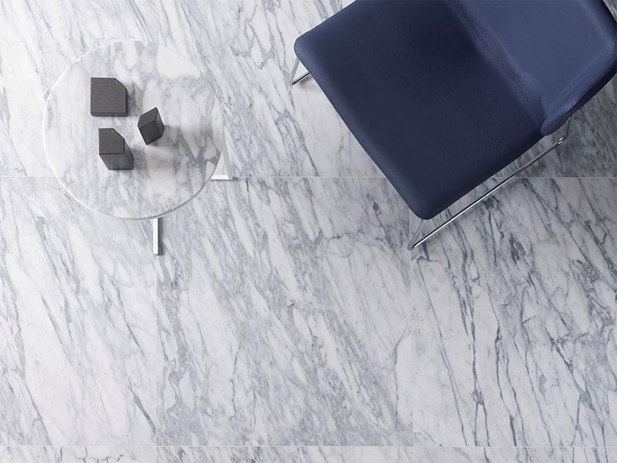 Modello di pavimento per cucina moderna in marmo 06