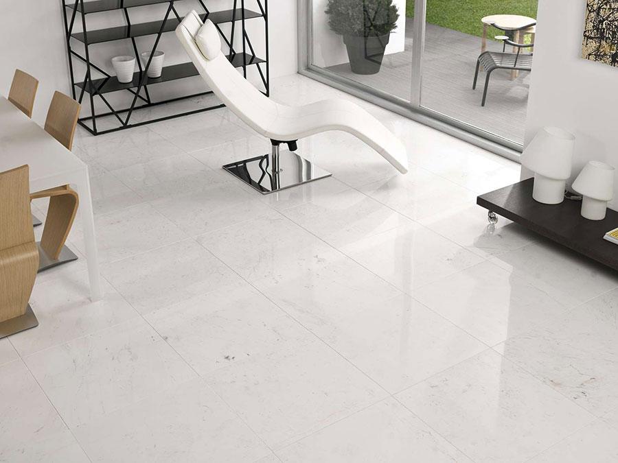 Modello di pavimento per cucina moderna in marmo 07