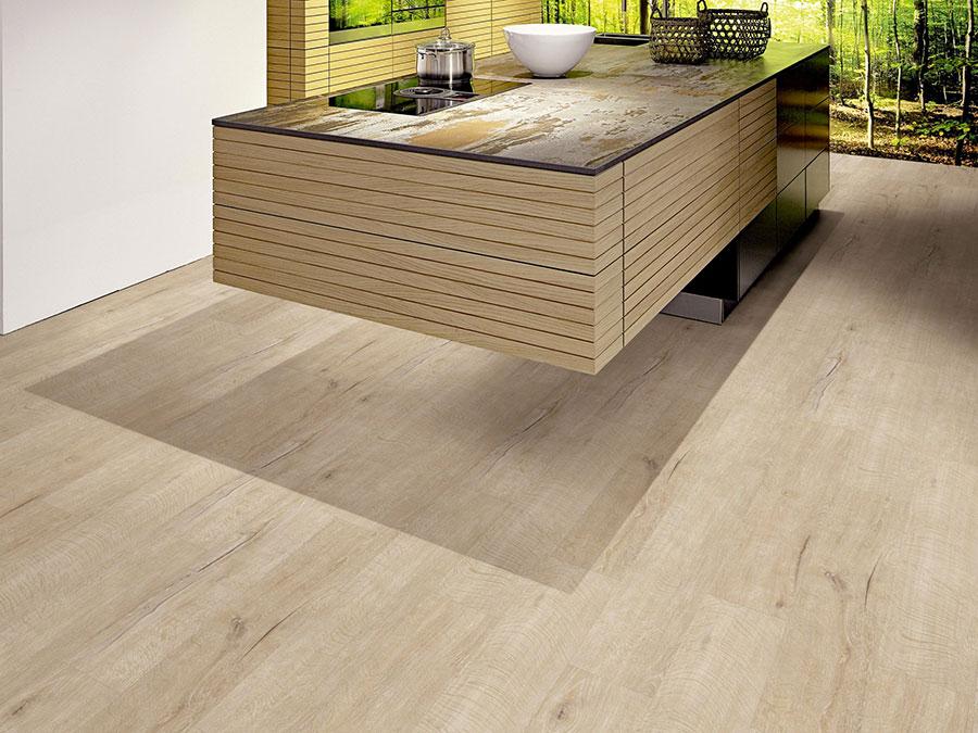 Modello di pavimento per cucina moderna in PVC 05