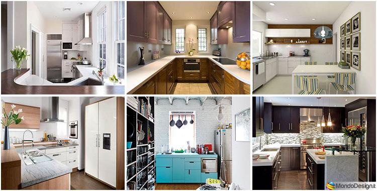 Cucina Piccola Ed Economica.80 Piccole Cucine Funzionali E Adorabili Mondodesign It