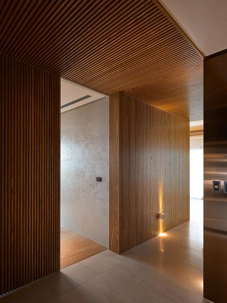 Idee per rivestimenti di pareti in legno n.15