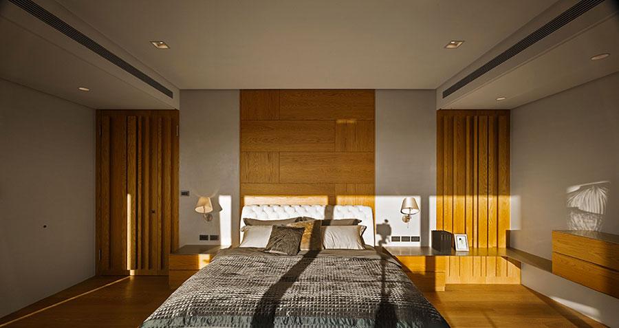 Idee per rivestimenti di pareti in legno n.18