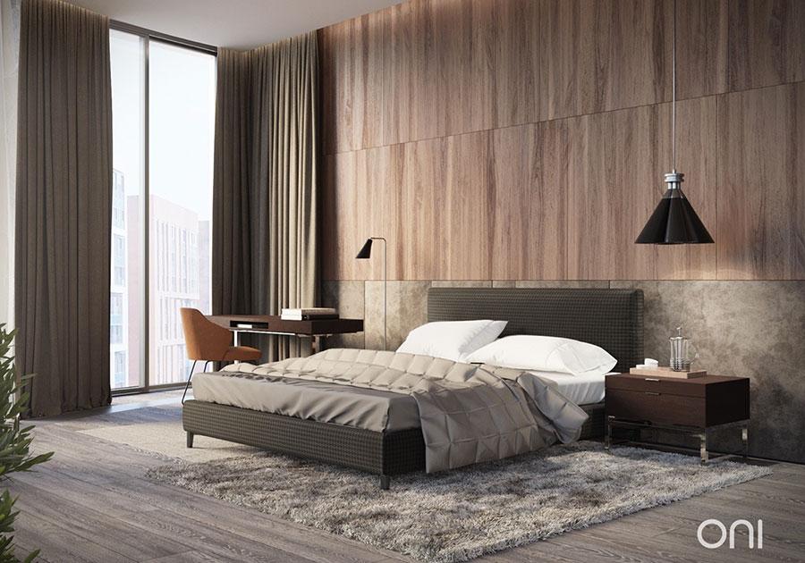 Idee per rivestimenti di pareti in legno n.25