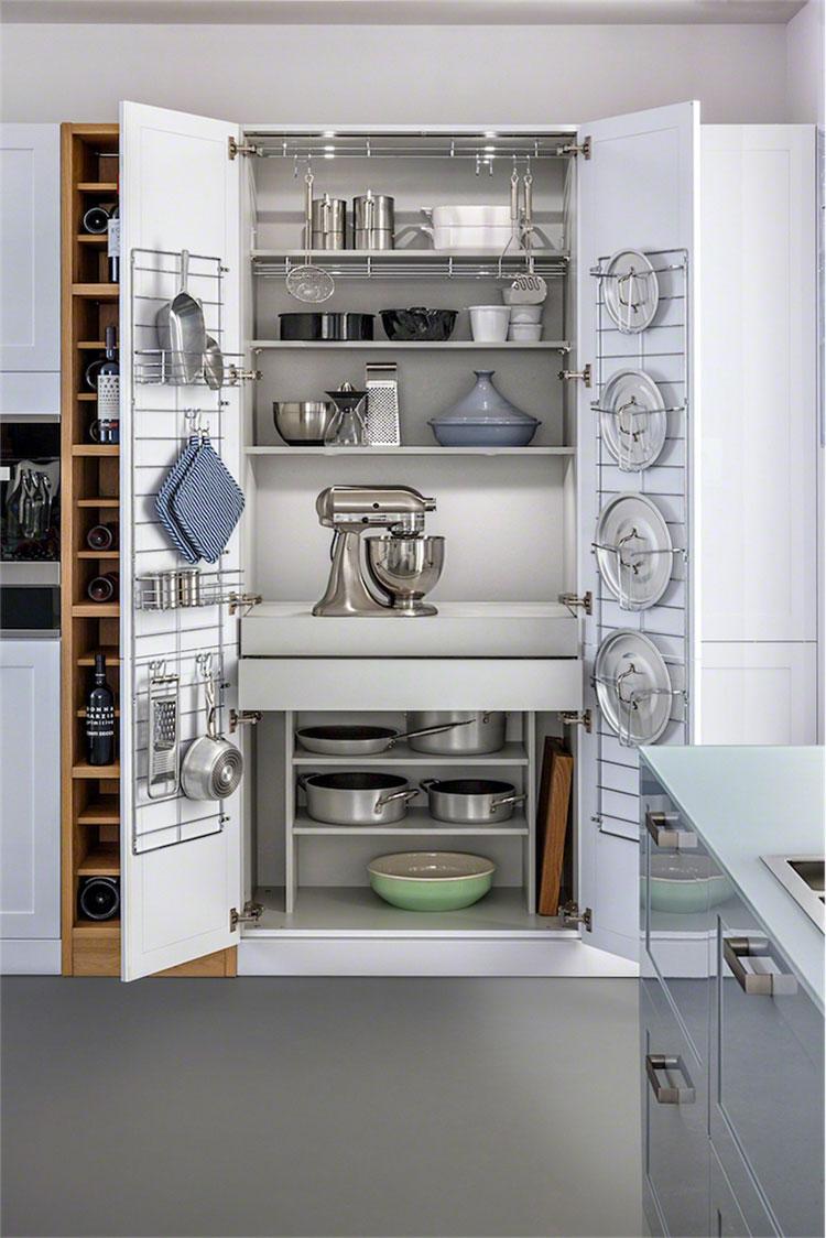 Idee per accessori per cucine salvaspazio 1