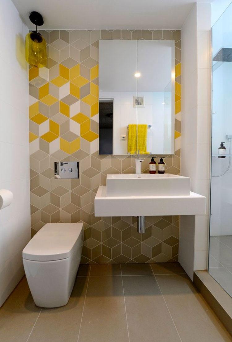 Idee per abbinare i colori in un bagno marroni 03