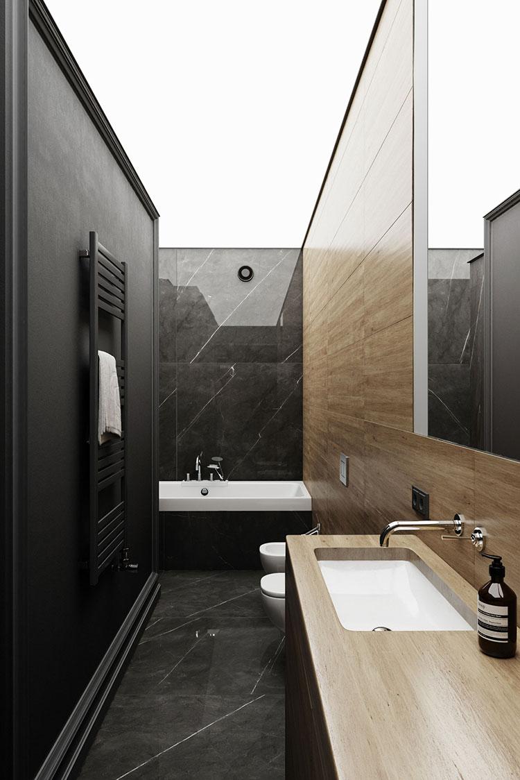 Arredare bagno in stile nordico n.03