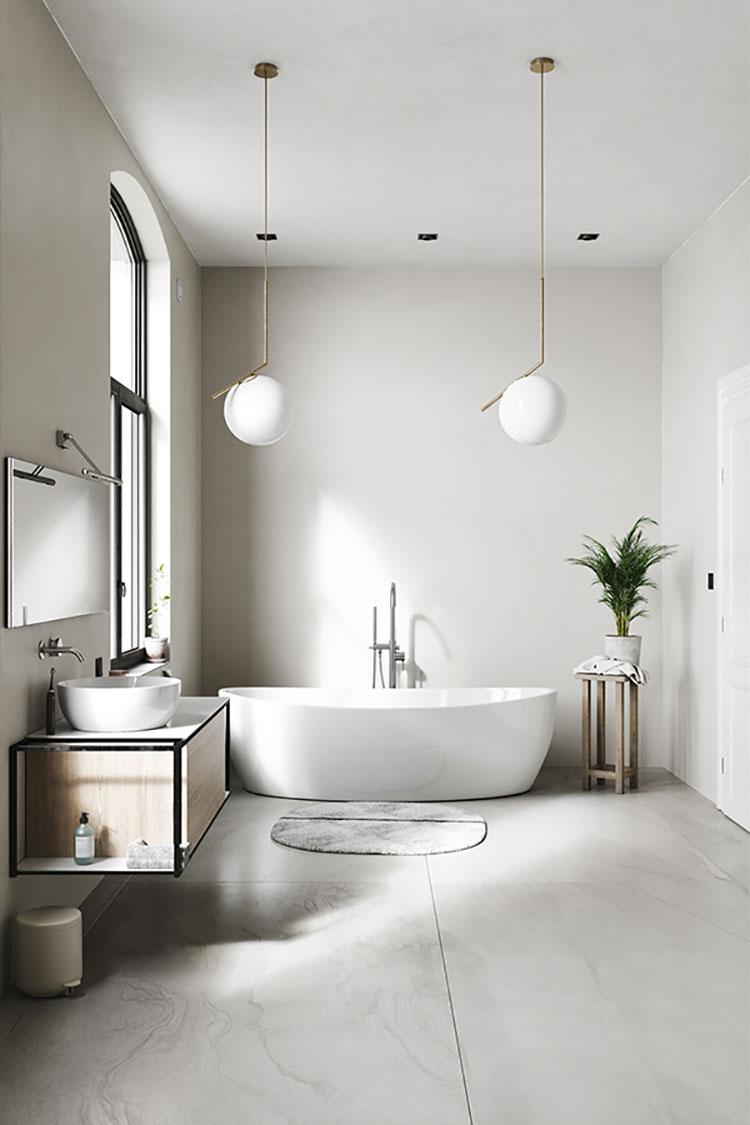 Arredare bagno in stile nordico n.04