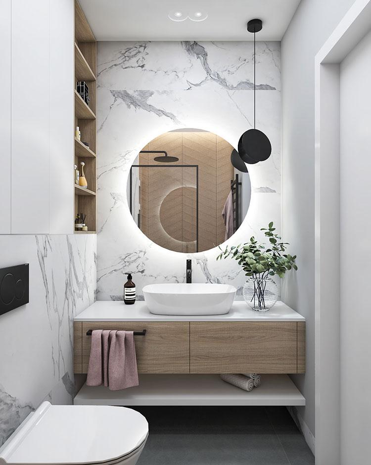Arredare bagno in stile nordico n.17