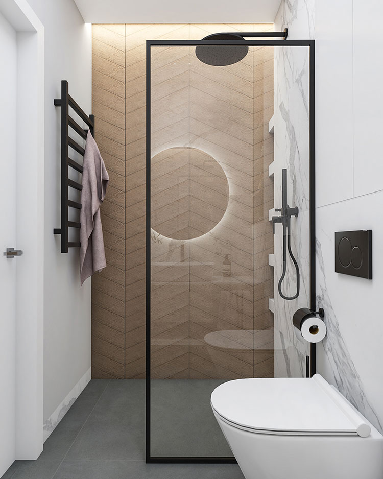Arredare bagno in stile nordico n.18