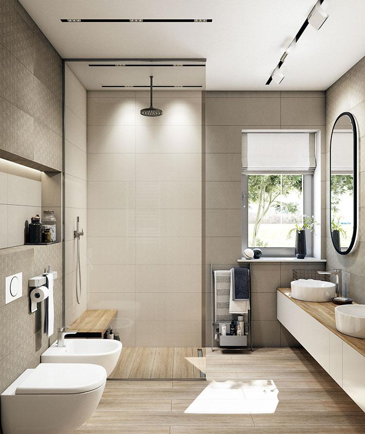 Arredare bagno in stile nordico n.21
